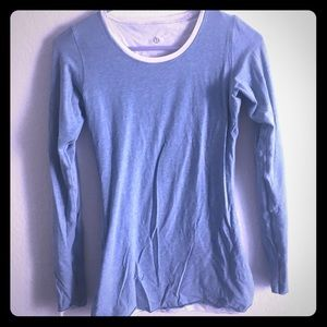 Lululemon Size 4 Reversible Long Sleeve